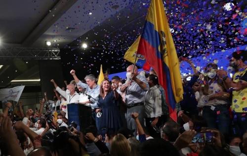 Guillermo Lasso, nouveau président de l'Equateur