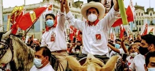 Pedro Castillo crée la surprise dans la présidentielle au Pérou