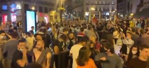 Après la fête, Madrid appelle à la responsabilité (vidéo)