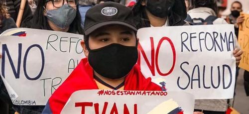 Un appel à la grève nationale lancé en Colombie