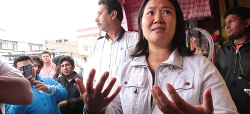 Présidentielle au Pérou : les partisans de Fujimori dénoncent des...