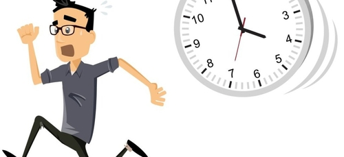 La bonne nouvelle du jour : Vous êtes en retard ? C'est bon signe !
