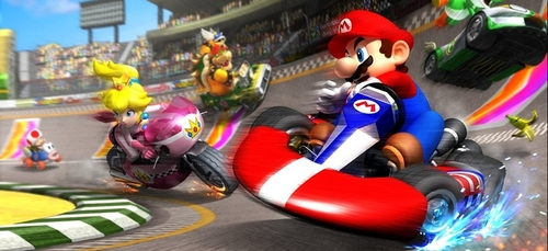 La bonne nouvelle du jour :  Une course Mario Kart géante dans les...