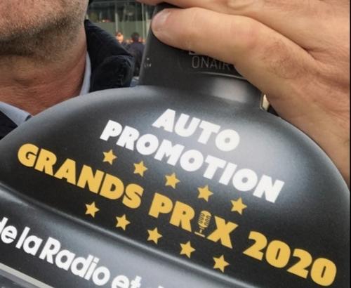 Un message Oxygène Radio remporte le Prix de l'auto promo de l'année !