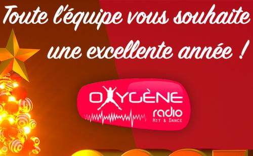 Toute l'équipe d'Oxygène Radio vous souhaite une très belle Année...