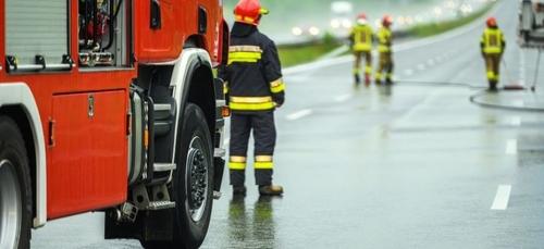 Deux blessés après un accident de la route, l'axe Lion d'Angers -...