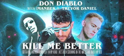 Imanbek avec Don Diablo pour le single retro Kill Me Better