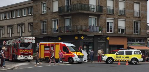 Vire : Une personne décède après une chute de 2ème étage