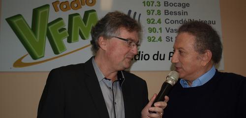 MICHEL DRUCKER SUR RADIO VFM CE SAMEDI À 10H15