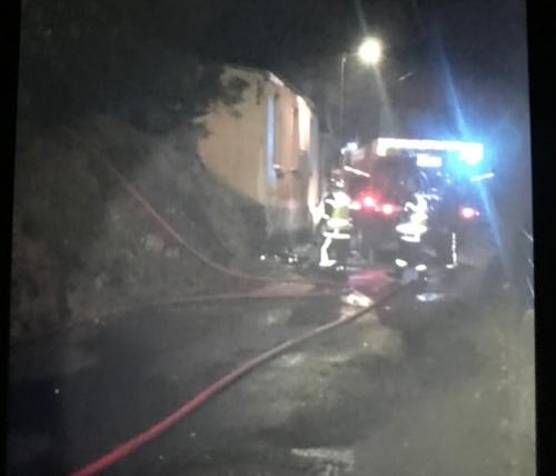 Un incendie criminel cette nuit dans les rames à Vire Normandie