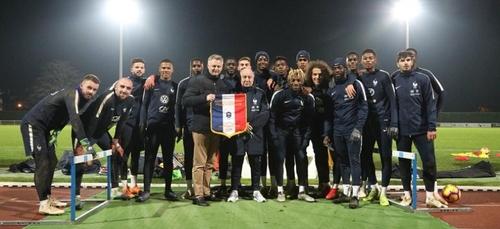 L'Equipe de France espoirs s'entraîne à Bayeux