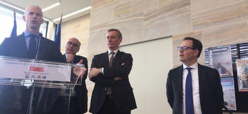 Le Ministre de la Culture a inauguré la médiathèque de Bayeux