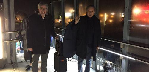 Michel Drucker est à Vire !