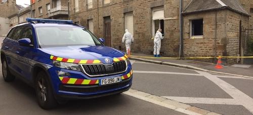 Important dispositif de Gendarmerie rue Halbout