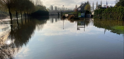 Bayeux se remet doucement des inondations