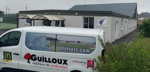 le club house de l'AF Virois une nouvelle fois cambriolé !