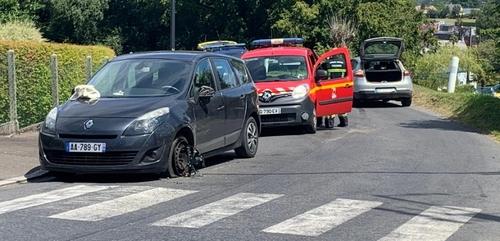 Une automobiliste blessée dans un accident à Saint-Sever