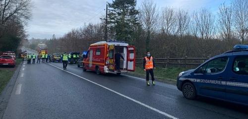 2 morts ce matin entre Vire et Saint-Sever