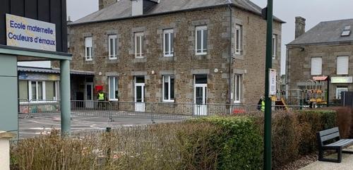 un cluster à l'école maternelle de St Germain de Tallevende