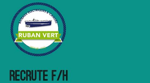Nantes : le service de location de bateaux électriques Ruban Vert...