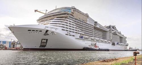 Saint-Nazaire : le départ du MSC Virtuosa programmé mardi 30 mars