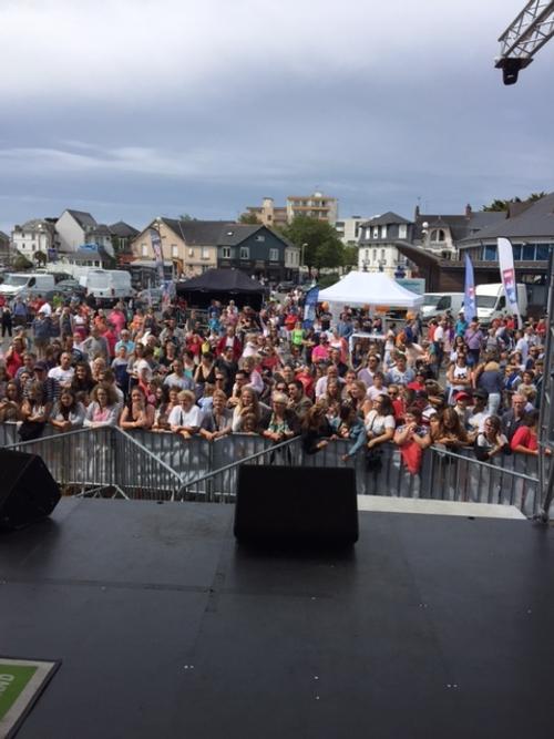 La tournée d'été TF1 à Pornichet : grosse affluence populaire !