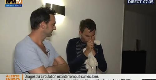Insolite - Un journaliste de BFM TV piégé par l'équipe de Cyril...