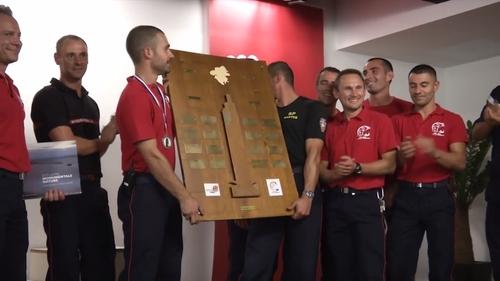 Une épreuve unique pour les pompiers ce samedi à Nantes