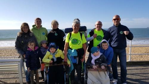 Une habitante de Saint-Marc-sur-Mer fait un tour de France à pied !