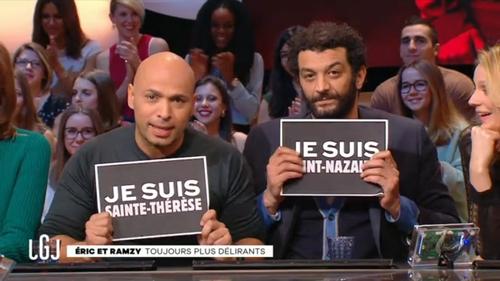 """Eric et Ramzy : """"Je suis Saint-Nazaire"""""""