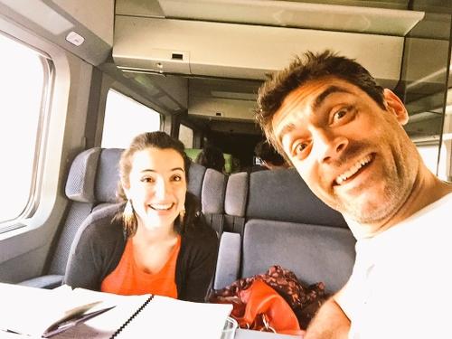 """Le TGV de """"nos chers voisins"""" arrive avec 7h de retard à Nantes !"""