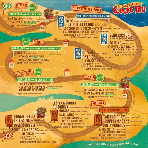 Les dix derniers noms du festival Couvre Feu !
