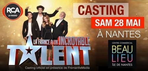Un tremplin pour Incroyable Talent à Nantes samedi 28 mai !