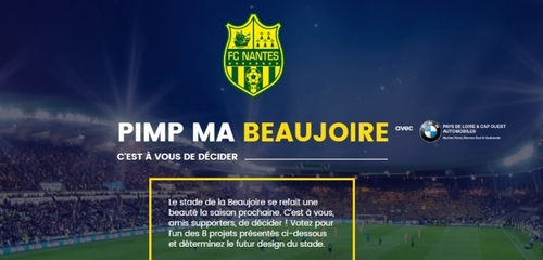 Découvrez le prochain design du stade de la Beaujoire