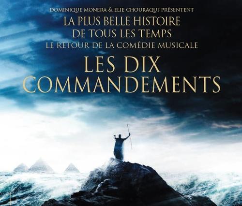 """""""Les 10 Commandements"""" Le Retour: Mardi 6 Décembre à Nantes et..."""