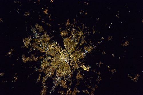 Nantes vu de l'espace : la photo de l'astronaute Thomas Pesquet