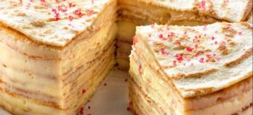 Le gâteau de crêpes... salées !
