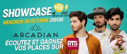 RTS vous offre le showcase ultra privé d'Arcadian à Avignon !
