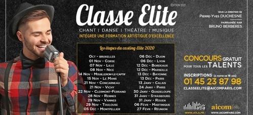 Auditions concours Classe Elite
