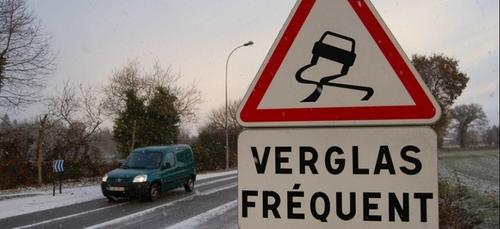 Verglas sur la route : il faut rester prudent dans les Ardennes
