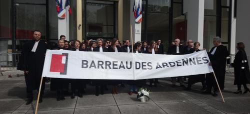 """Journée """"justice morte"""" au tribunal de Charleville-Mézières"""