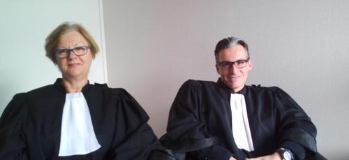 """Le """"non"""" à la réforme de la justice des avocats Ardennais."""