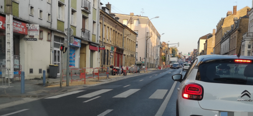 Les travaux s'achèvent avenue de Gaulle à Charleville.