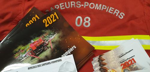 La vente des calendriers des pompiers repensée face à la crise...