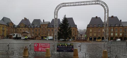 Le marché de Noël maintenu à Charleville malgré le contexte sanitaire