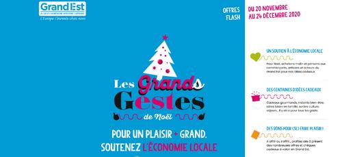 """""""Les Grands Gestes de Noël"""" : une nouvelle plateforme web pour..."""