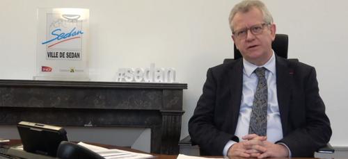 Le Maire de Sedan présente ses voeux sur les réseaux sociaux