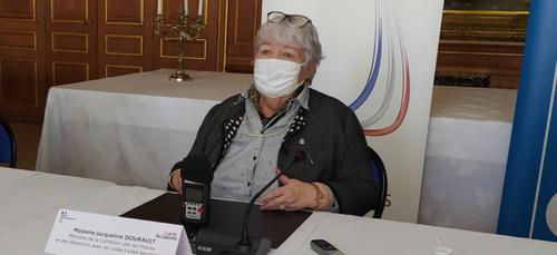 """""""Le Pacte Ardennes est une réussite"""" déclare Jacqueline Gourault en..."""