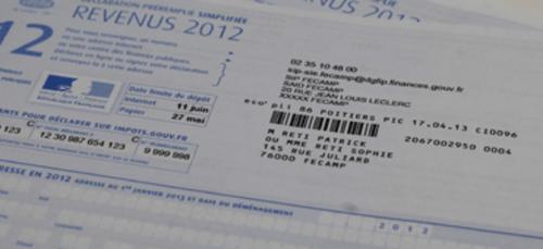 Déclaration d'impôts sur le revenu 2021