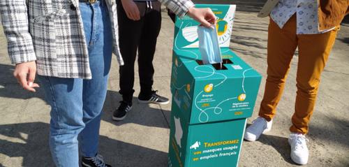 Un projet pour recycler les masques au Lycée Sévigné
